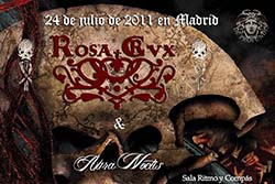 Aura Noctis live in Ritmo y Compás (Madrid, Spain), July 24, 2011 - Poster - open/download image @600x430