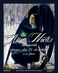Aura Noctis live in Madrid - Ritmo y Compás, July 24, 2011 - Poster - open/download image @600x430